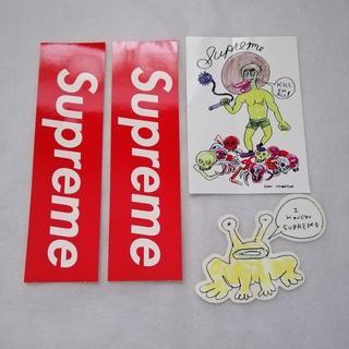 シュプリーム(Supreme)のSupreme ステッカー 4枚(その他)