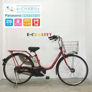 パナソニック(Panasonic)のKP016☆電動自転車☆パナソニック ViVi Style DX☆26インチ☆(自転車本体)