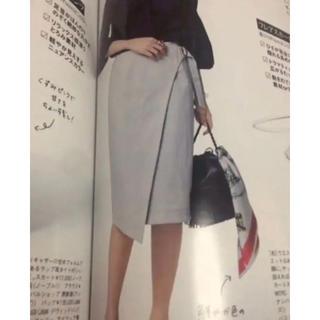 ノーブル(Noble)のNOBLE♡Oggi掲載♡ラップタイトスカート(ひざ丈スカート)