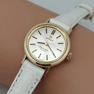 オメガ(OMEGA)のOH済 1972年製 オメガシーマスター デビル レディース 薄型ミニサイズ(腕時計)
