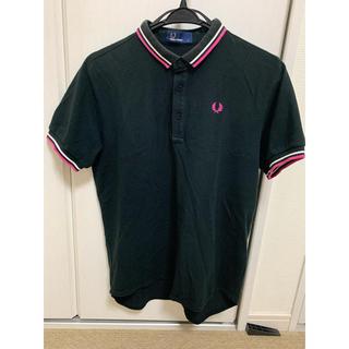 フレッドペリー(FRED PERRY)のナリフリ ポロシャツ  フレッドペリー  半袖 ブラック s(ポロシャツ)