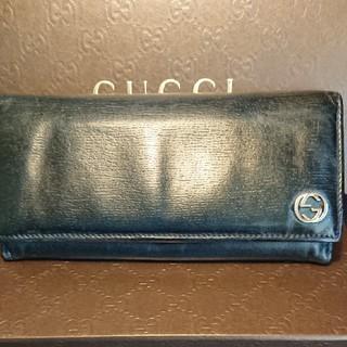 グッチ(Gucci)のグッチGUCCI 長財布 ブラック(その他)