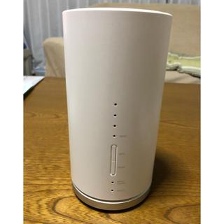 エーユー(au)のSpeed Wi-Fi HOME L01 HWS31MWA ホワイト(PC周辺機器)