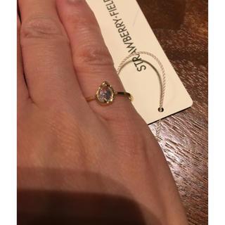 ストロベリーフィールズ(STRAWBERRY-FIELDS)の新品ストロベリーフィールズ ピンキーリングフリー(リング(指輪))