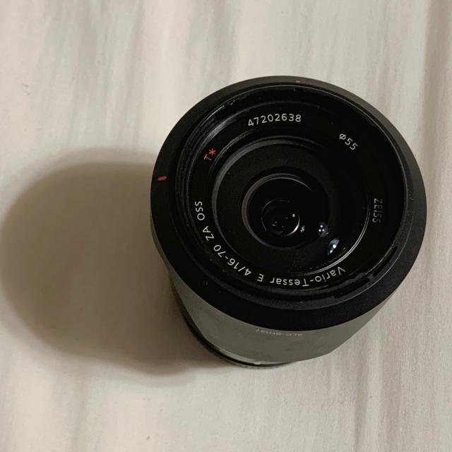 SONY(ソニー)のVario-Tessar T *E16-70 F4 スマホ/家電/カメラのカメラ(レンズ(ズーム))の商品写真