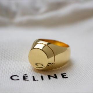 セリーヌ(celine)の19ss/CELINE/セリーヌ/エディ期/ラウンドシグネットリング/サイズ54(リング(指輪))