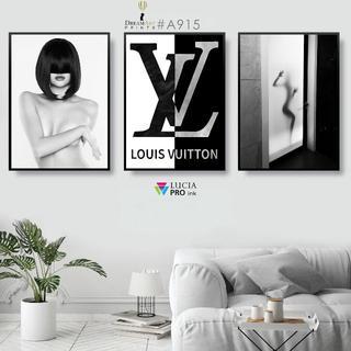 インテリアポスター オマージュアート ルイヴィトン 3枚セット #A915(フォトフレーム)