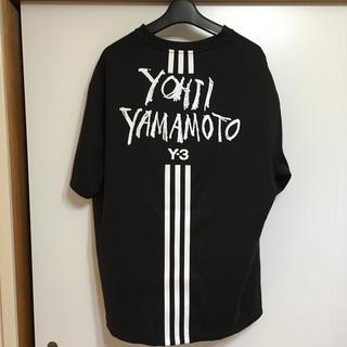Y-3 - 19ss Y-3 ロゴ入り半袖Tシャツ