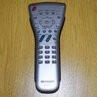 シャープ(SHARP)のシャープ  テレビ  リモコン  GA348WJSA(その他)
