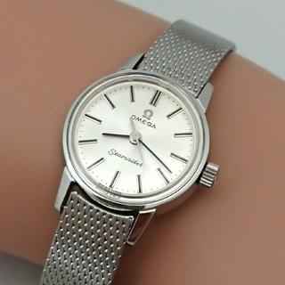 オメガ(OMEGA)のOH済 1966年製 オメガシーマスターレディース 3針手巻き純正ブレス付(腕時計)