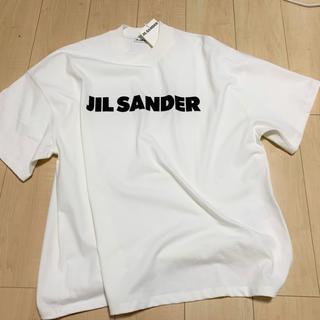ジルサンダー(Jil Sander)のJil Sander 2019/20AW新作 コットン ロゴ Tシャツ (Tシャツ/カットソー(半袖/袖なし))