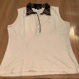 バーバリー(BURBERRY)のバーバリーロンドン ノースリーブシャツ【新品・未使用】(Tシャツ(半袖/袖なし))