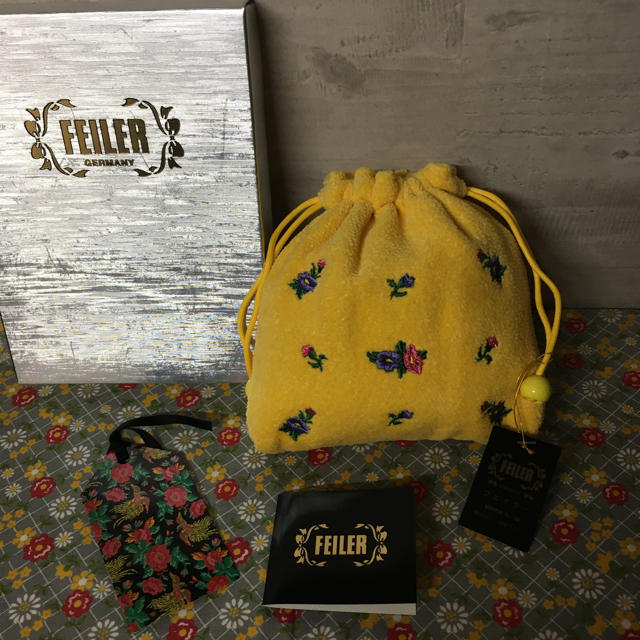 FEILER(フェイラー)のフェイラーA 巾着ポーチ レディースのファッション小物(ポーチ)の商品写真