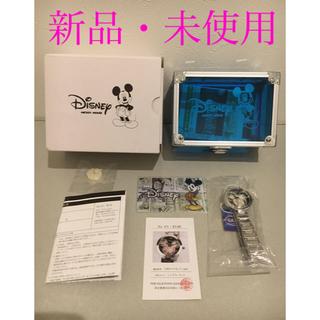 ディズニー(Disney)のミッキー生誕85周年記念 世界限定メモリアルダイヤ時計 ピンク(腕時計)