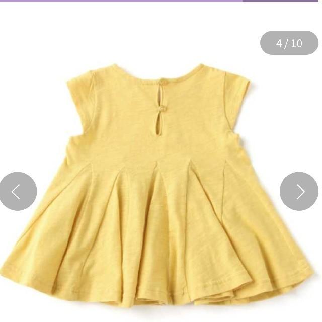 petit main(プティマイン)の未使用 プティマイン チュニック 130㎝ キッズ/ベビー/マタニティのキッズ服女の子用(90cm~)(Tシャツ/カットソー)の商品写真