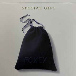フォクシー(FOXEY)の新品 フォクシー ノベルティ パースバッグ(ノベルティグッズ)