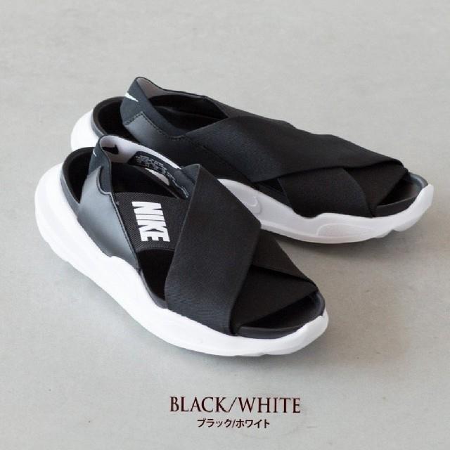 NIKE(ナイキ)の新品・未使用!!ナイキ【24cm】プラクティスク/ブラック×ホワイト/サンダル レディースの靴/シューズ(サンダル)の商品写真