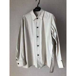 Drawer - BLAMINK ブラミンク  コットン バックギャザー レギュラーカラーシャツ