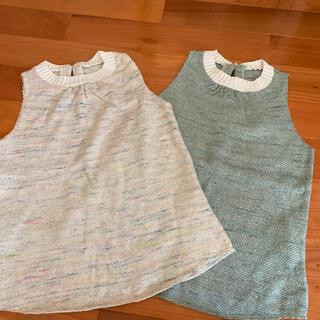 アダムエロぺ(Adam et Rope')のコットン70% カットソー ホワイト(カットソー(半袖/袖なし))