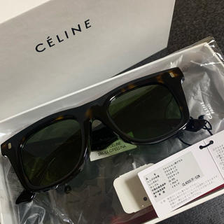 セリーヌ(celine)の新品未使用⭐︎CELINE サングラス ダークブラウン 定価¥50600(サングラス/メガネ)