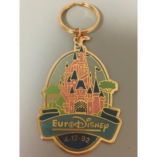 ディズニー(Disney)の1992年 ユーロディズニー開園記念 キーホルダー(キーホルダー)