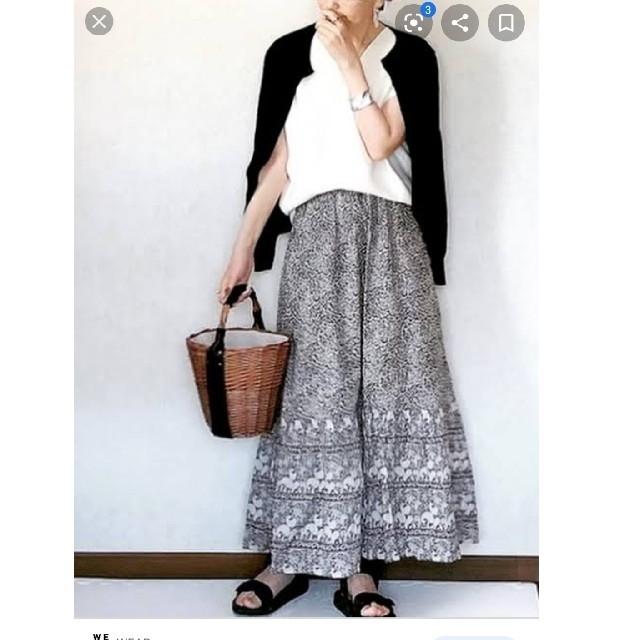 UNIQLO(ユニクロ)のユニクロアナスイティアードロングスカート レディースのスカート(ロングスカート)の商品写真