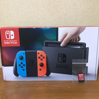Nintendo Switch - Nintendo Switch Joy-Con (L) ブルー / (R)レッド
