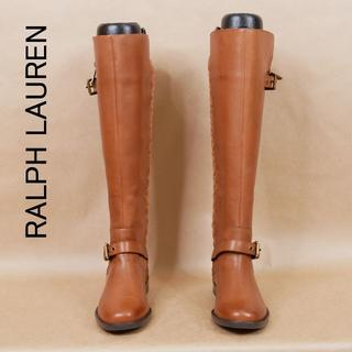 Ralph Lauren - 使用感少 RALPH LAUREN ラルフローレン 6.5B ロングブーツ