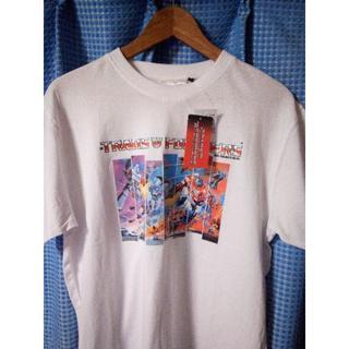 シマムラ(しまむら)のトランスフォーマー コラボTシャツ M 白(Tシャツ/カットソー(半袖/袖なし))