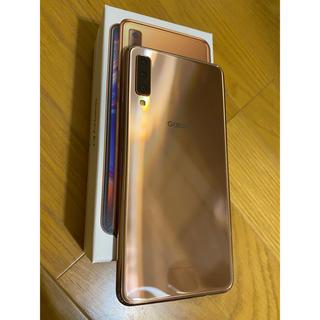 Galaxy - GALAXY a7 ゴールド 楽天モバイル