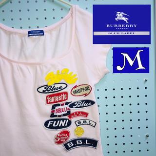 バーバリー(BURBERRY)のBURBERRY  バーバリー  ワッペンTシャツ  Mサイズ(Tシャツ(半袖/袖なし))