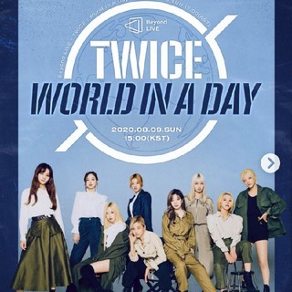 ❤️TWICE❤️Beyond LIVE WORLD IN A DAY DVD(ミュージック)
