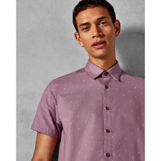 テッドベイカー(TED BAKER)のTED BAKER Cocktail print cotton shirt(シャツ)