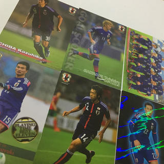 カルビー(カルビー)のサッカー日本代表 JFA カード(スポーツ選手)