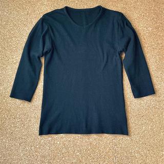 ダブルジェーケー(wjk)のwjk 切りっぱなし7部袖カットソー(Tシャツ/カットソー(七分/長袖))