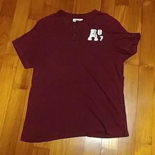 アバクロンビーアンドフィッチ(Abercrombie&Fitch)のアバクロンビー&フィッチ ヘンリーTシャツ(Tシャツ/カットソー(半袖/袖なし))