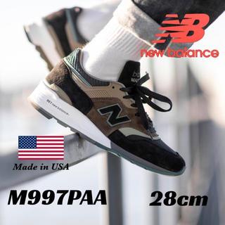 New Balance - 【新品・限定モデル】NEW BALANCE M997 USA復刻 28cm
