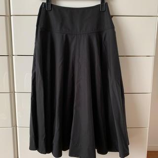 ユニクロ(UNIQLO)のユニクロユー ラウンドスカート(ロングスカート)
