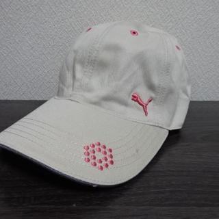 PUMA - ◆PUMA GOLF プーマ 帽子 キャップ M(55-57) 調節可能