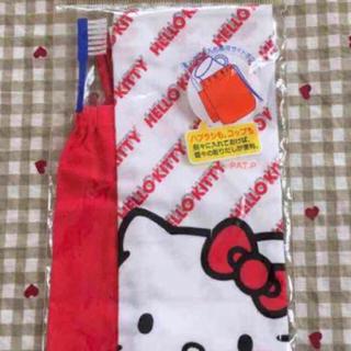 サンリオ(サンリオ)のHeIIo Kitty 新品コップ入れ キティちゃん 巾着 (その他)