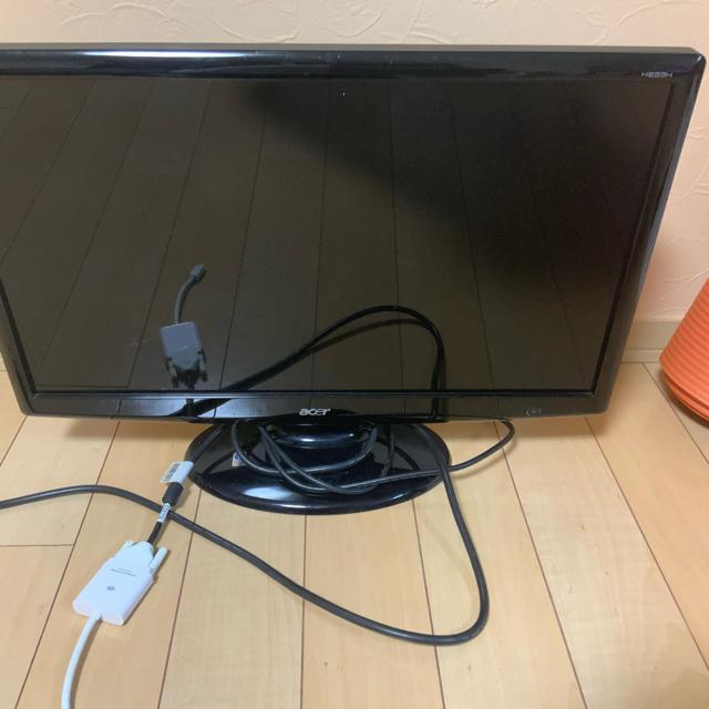 Acer(エイサー)の【PCモニター】acre  H233H 23インチ Full HDモニター スマホ/家電/カメラのPC/タブレット(ディスプレイ)の商品写真