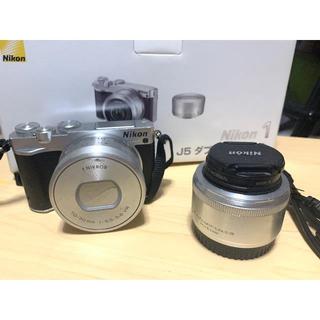 Nikon - Nikon ミラーレス j5ダブルレンズキット