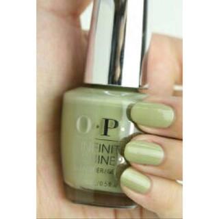 オーピーアイ(OPI)のOPI IS L39 永遠の美を約束するセージグリーン(マニキュア)
