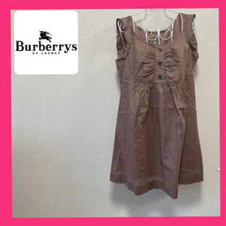 バーバリー(BURBERRY)のバーバリー ロンドン tシャツ  チュニック ほぼ未使用 美品(Tシャツ(半袖/袖なし))