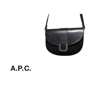 アーペーセー(A.P.C)のA.P.C. レザー ショルダーバッグ / アーペーセー ハーフムーン(ショルダーバッグ)