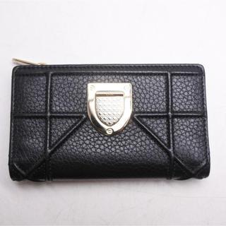 Christian Dior - クリスチャンディオール ディオラマ コンパクト 財布 ブラック ゴールド 未使用