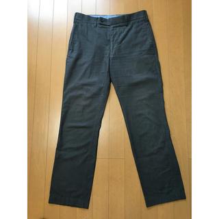 ムジルシリョウヒン(MUJI (無印良品))のスラックス グレー 無印良品 パンツ スーツ(スラックス)