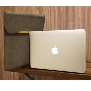 マック(Mac (Apple))のゆかりさま専用 中古美品 macbook air 2017 おまけ付き(ノートPC)
