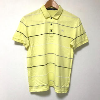 バーバリーブラックレーベル(BURBERRY BLACK LABEL)の定1.5万 バーバリーブラックレーベル ボーダー半袖ポロシャツ2(ポロシャツ)