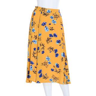 マーキュリーデュオ(MERCURYDUO)の花柄スカート(ロングスカート)
